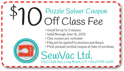 Puzzle Solver Coupon