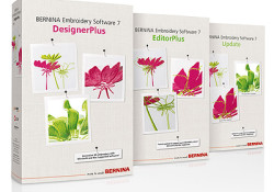 BERNINA Embroidery Software 7: Now Windows 10 compatible!