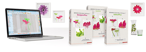 Bernina Embroidery Software 7 Now Windows 10 Compatible