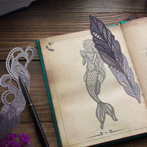Lace Bookmarks