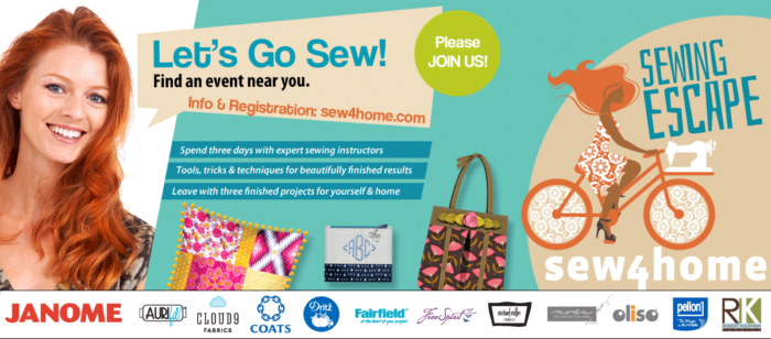 Let's Go Sew Sewing Escape Retreat