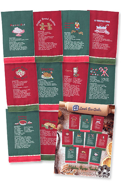 Holiday Recipe Towels