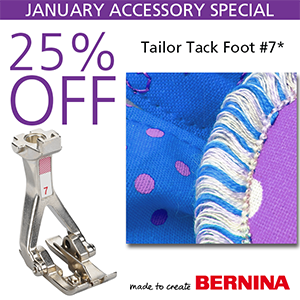 Bernina Tailor Tack Foot