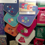 Lunch Box Quilts display